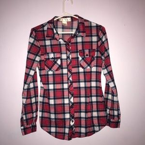 POLYESTER FLANEL ; Women's Small ; Multicolor